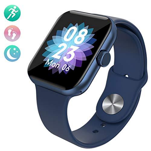 CETLFM Fashion Sport Intelligente Uhr, Neuer Erwachsensport Pedometer, Touch-Smart-Uhr Für Den Sport Geeignet,A