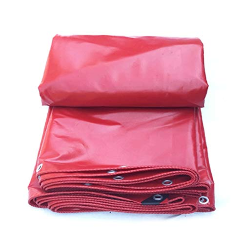 FINLR-Plane Wasserdicht Verdicken Sonnencreme Outdoor Tuch Zelt Canvas Kunststoff Beschichtetes Tuch (Size : 4X6M)