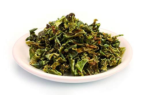 Bio grüne Paprika getrocknet 1kg Paprikaflocken Gemüse, Trockengemüse, Gemüsepaprika, Rohkost, grünlich/bräunlich 1000g