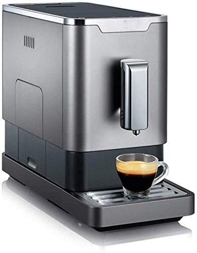 CHNFF Praktisch Single-Serve-Schale Kaffee, Latte und Cappuccino-Maschine, Kaffeevollautomat for Gewerbe Kaffeemaschine Frisch gemahlener Kaffee-Maschine