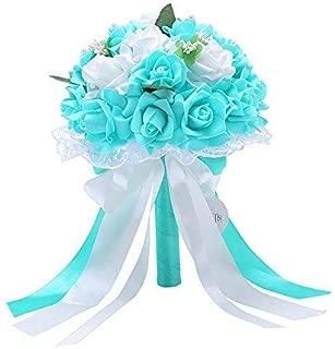 Best tiffany blue flower bouquet Reviews