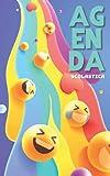 Agenda Scolastica: Smiley ! Diario Scolastico Bi Giornaliero per Bambini, Adolescenti, Studente | Da Settembre ad Agosto | Ragazza e Ragazzo | A5 mini, piccola | Italiano | Elementare, college, liceo