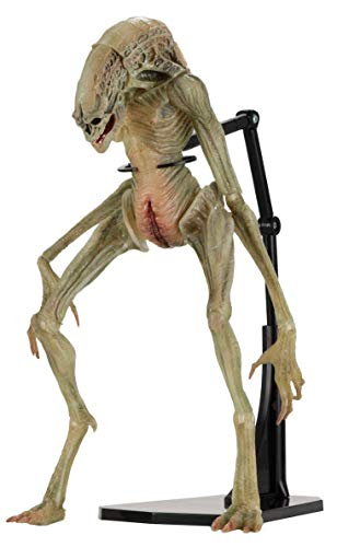 NECAA 51654 Aliens 7' Scale Action Figure Deluxe Alien Resurrection Newborn, Multicolor