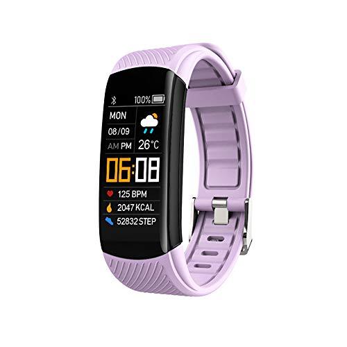 TAORANG Pulsera de seguimiento de fitness, relojes de ejercicio de salud con monitor de sueño de frecuencia cardíaca, oxígeno en sangre, resistente al agua para Android Ios para hombres y mujeres
