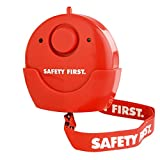 kh security Haus-Notfallalarm mit LED-Licht, rot, 100109