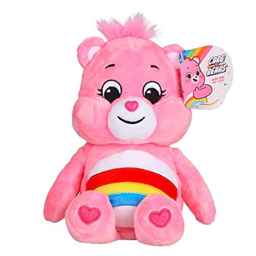 NEW 2020 Care Bears - 9u0022 Bean Plush - Soft Huggable Material - Cheer Bear