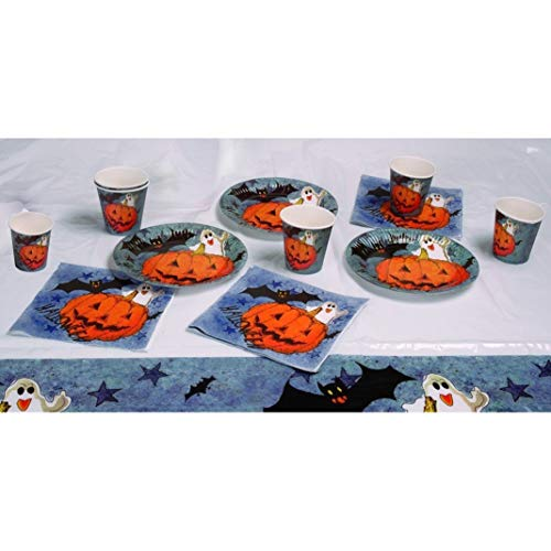 Boland Set de Table Halloween « Pumpkin & Friends » Orange Référence 74480