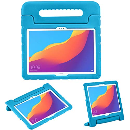 iMoshion kompatibel mit Huawei MediaPad T5 10.1 inch Hülle – Tablethülle für Kinder – Tablet Kids Hülle in Mehrfarbig mit Griff & Ständer [Robust, Handgriffig, Stoßfest]