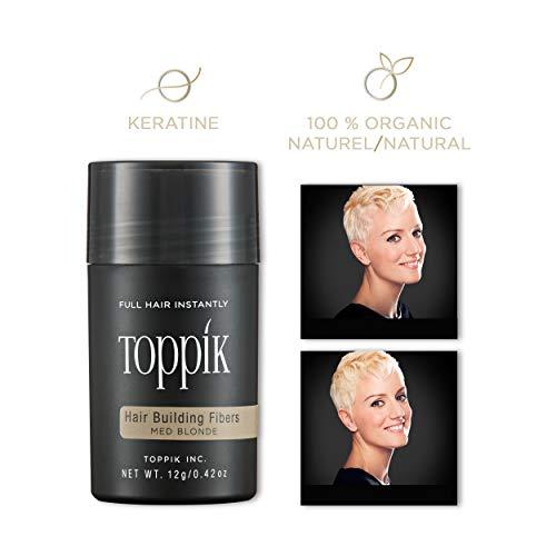 TOPPIK 12 g., Couleur:Blond Moyen