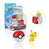 Colfeel Pokemon Figur, Pokemon Spielzeug Pokémon Ball Pikachu Figure, Pokemon Parteien für Erwachsene und Kinder
