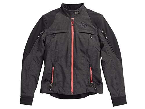 HARLEY-DAVIDSON Damen Motorrad Jacke Schutzjacke Winddicht Wasserabweisend, XS