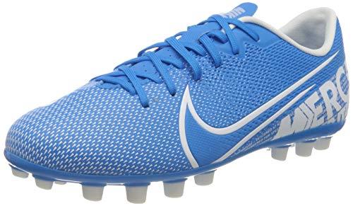 Nike JR Vapor 13 Academy AG, Botas de fútbol Unisex niño, Multicolor (Blue Hero/White/Obsidian 414), 35.5 EU
