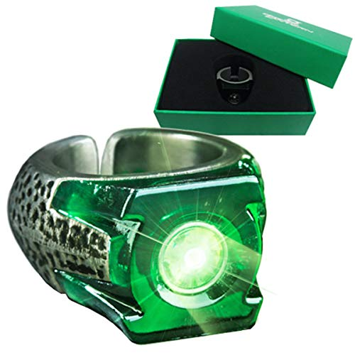 The Noble Collection Green Lantern Light-Up Ring Accesorio