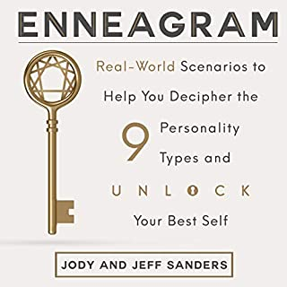 Enneagram: Real-World Scenarios to Help You Decipher the 9 Personality Types and Unlock Your Best Self audiobook cover art