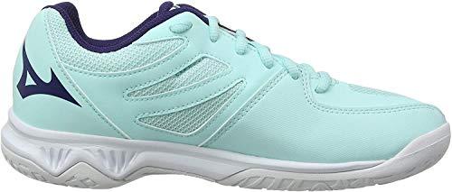 Mizuno Lightning Star Z5 Jr, Zapatillas de Voleibol, Unisex niños, Azul (Blue Light/Astral Aura/White 28), 32.5 EU