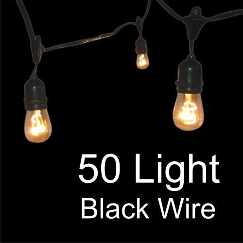 OFFicial shop Globe String Lights We OFFer at cheap prices with Suspensors 50 Light - Grade Commercial