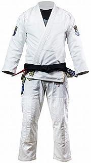 DO OR DIE 柔術衣 Olymp 白/ブルテリア HYPERFLY 柔術衣 練習用 試合用 ブラジリアン柔術 BJJ 柔道 大人用 男女兼用 丈夫な生地 専用袋付き