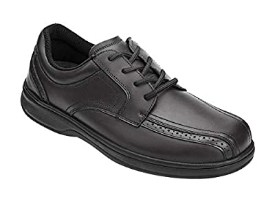 f605e8199563 Orthofeet Gramercy Men s Comfort Extra Wide Orthopedic Arthritis Diabetic  Oxford Shoes