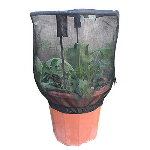 Woorea Plant Net Cover Protective Zipper Mesh Net Bag Garden Plant Cover Fruit Protection Garden Cover Garden Accessories