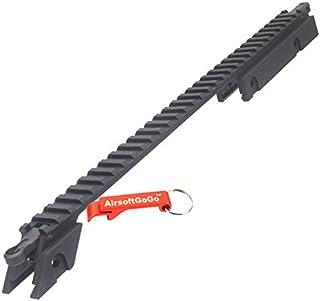 Tbest Agarre de Vertical de Airsoft T/áctico Grip de Empu/ñadura Vertical Foregrip Mango de Nylon T/áctica Agarre RVG para Softair para Rifle 20 Mm Picatinny Rail System