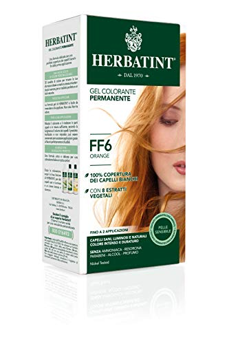 Herbatint - Flash Fashion 135ml Coloration Herbatint - Ff6 Orange