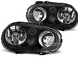 Paire de feux phares V- Golf 4 97-03 design noir