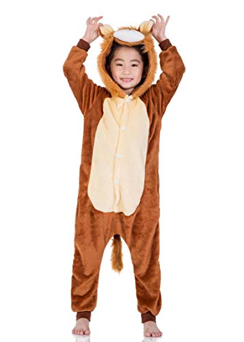 heekpek Cartoon Animal Halloween Pijama Cosplay Animados Animal Disfraz Cosplay Ropa por Niños Animales Pijamas Ropa de Fiesta Cosplay