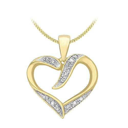 Carissima Gold Damen - Kette 375 Rundschliff Diamant 1.45.5670