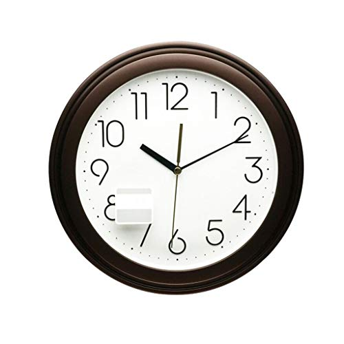 Clock Wall Clock Silent home Decorative Battery Operated Non Ticking Analog Retro Round Clock for Living Room, Kitchen, Bedroom 3D