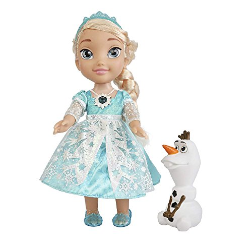 Disney Frozen Snow Glow Elsa Toddler Doll