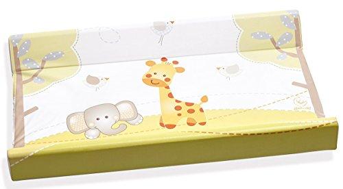 Italbaby 050.6010-25 Gina - Fasciatoio in PVC 2 lati, Multicolore