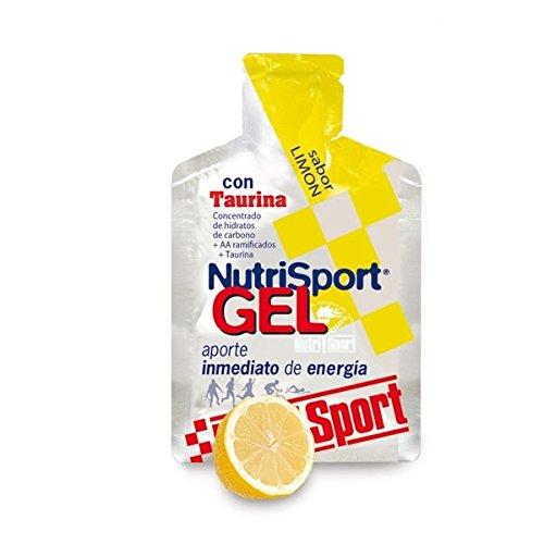 Nutrisport Gel Taurina Cycling 12 x 40ml Limón
