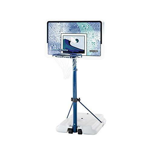 Lifetime 1301 Pool Side Basketball System, 44 Inch...