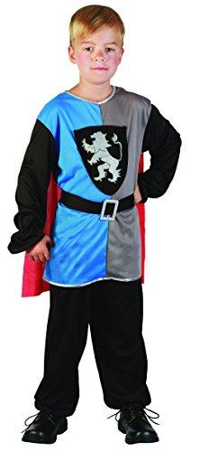 Rire Et Confetti - Fibmou023 - Déguisement pour Enfant - Costume Petit Chevalier Médiéval - Garçon - Taille M