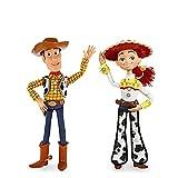 2 Piezas Pixar Toy Story 3 4 Talking Woody Jessie Figuras De Acción De Tela Modelo De Cuerpo Muñeca ...