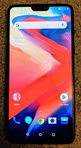 OnePlus 6 A6003 128GB Storage + 8GB Memory Factory...