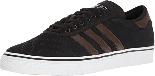 adidas Skateboarding Men's Adi-Ease Premiere Black/Brown/White 10.5 D US