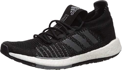 adidas Originals Pulseboost HD - Zapatillas de Correr para Mujer, Negro, Gris y Gris, 38.5 EU
