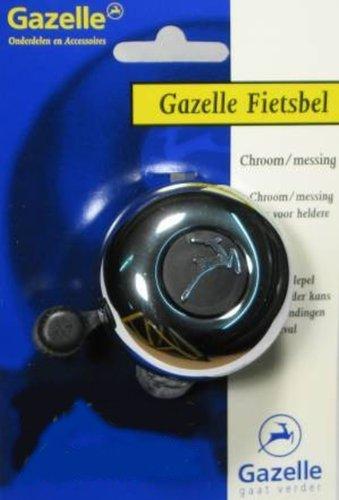 Gazelle Glocke silber