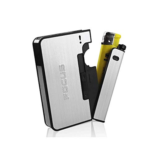 Affordable XIONGHAIZI Cigarette Case, Can Hold 10 Cigarettes, Automatic Cigarette/Lighter Cigarette ...