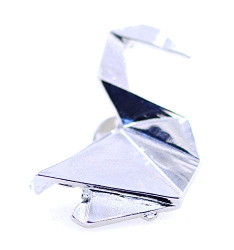 Lizzyoftheflowers - Broche plegable de papel con diseño de cisne y grúa...