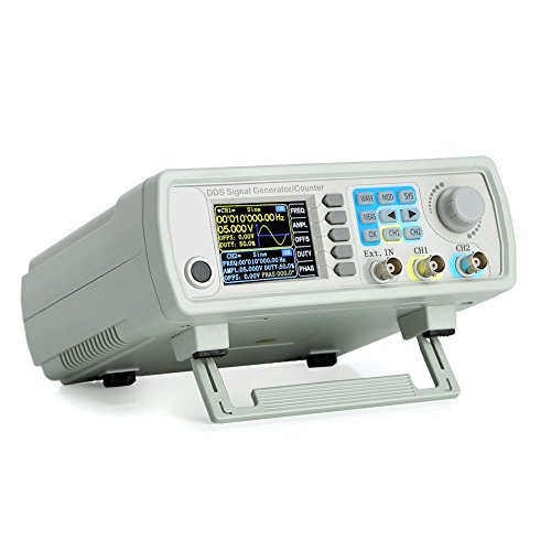 Koolertron Upgraded 30MHz DDS Signal Generator Counter,High Precision Dual-channel Arbitrary...