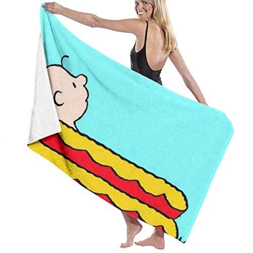 asdew987 Sn-oo-p-y Goodbye August - Toallas de baño multiusos de secado rápido, muy absorbentes, toallas de playa, toallas de piscina, 31 x 51 pulgadas, para mujeres y hombres