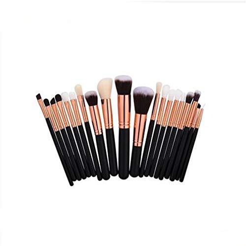 LIXIAQ1 20 Pcs Multifonctionnel Maquillage Brosses Correcteur Fard À Paupières Brosse Ensemble pour Femmes Beauté Outil