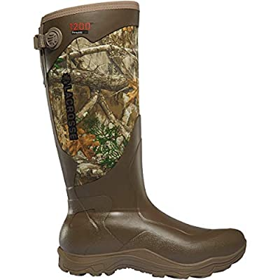 "Lacrosse Men's 302442 Alpha Agility 17"" 1200G Waterproof Hunting Boot, Realtree Edge - 11 D"