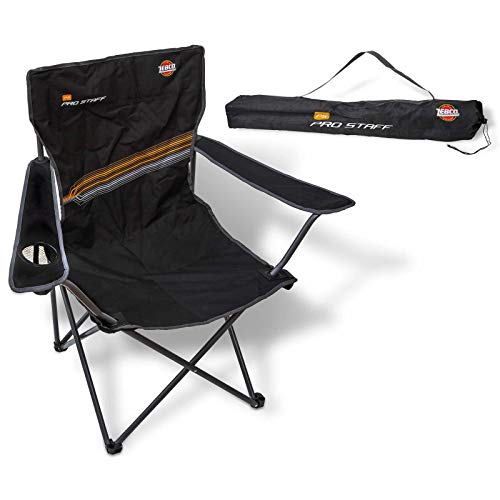 Zebco Pro Staff Stuhl BS, schwarz, 42 cm