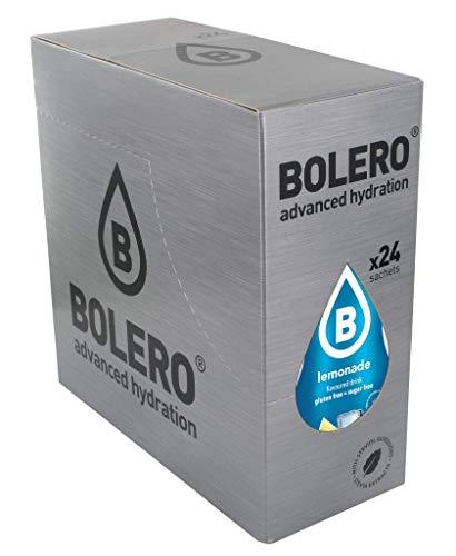 Bolero Bebida Instantánea Sin Azúcar, Sabor Limonada - Paquete de 24 x 9 gramos - Total 216 gramos