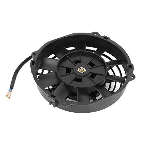 KASD Ventola per condizionatore d'Aria per Auto, Ventola elettrica Universale Unica da 12V 80W 2250 Giri/min per Auto