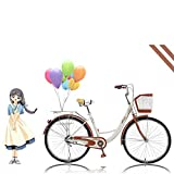 【US Fast Shipment】 2021 New 26 inch Beach Cruiser Bike for Women, High Tensile Carbon Steel...