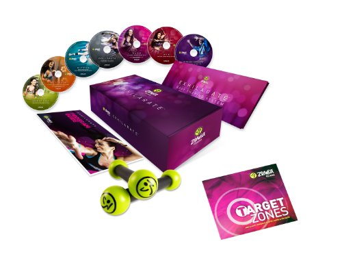 Zumba Fitness Exhilarate DVD-Programm inkl. Target Zones